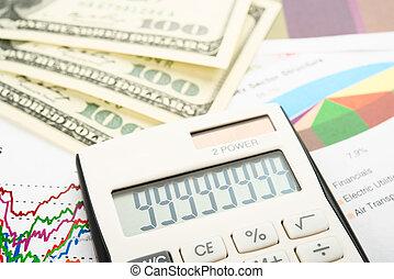 financiën, tabel