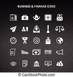 financiën, zakenbeelden