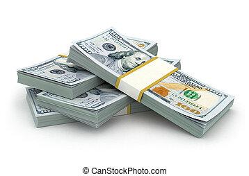 financi, 摘要, 創造性, 事務