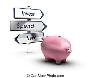 Financial Advice, Money Concept