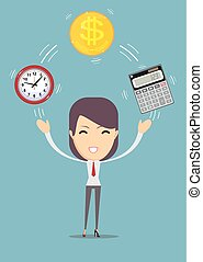 financial advisor and time management