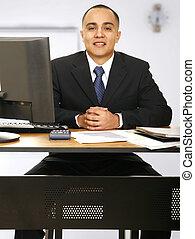 Financial Advisor At Your Service - happy financial advisor...