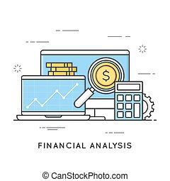 Financial analysis, project management, statistics, business str