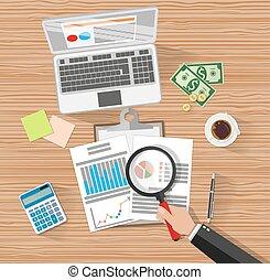 Financial audit. Auditing tax process.