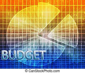 Financial budgeting illustration
