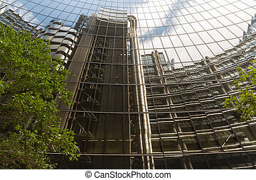 Financial Buildings in the Financial District of London