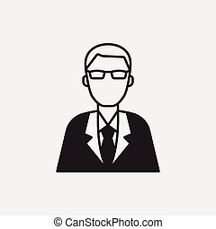 financial business concept icon