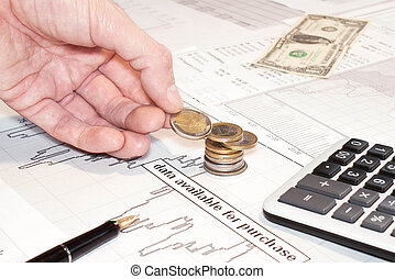 Financial Business.Concept