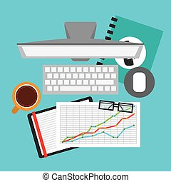 financial calculation design, vector illustration eps10...