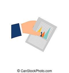 Financial chart report