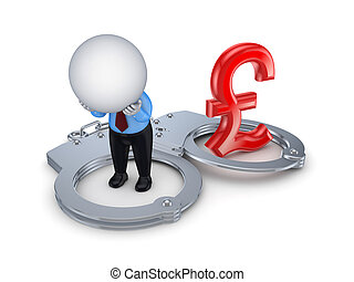 Financial crime concept.