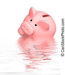 Financial crisis - Conceptual image - financial crisis