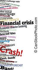 Financial crisis - Vector design of economic problem...