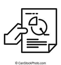financial data vector illustration