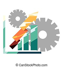 financial diagram gears