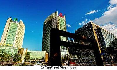 Financial district in Beijing