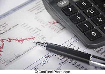 Financial figure