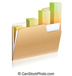 Financial Folder Icon
