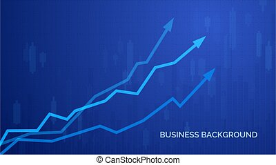 Financial graph chart. Business infographics background. Graph chart of stock market investment trading. Abstract analisys and statistic diagram. vector illustration
