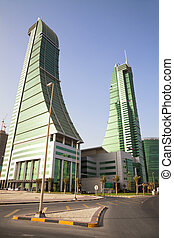 Financial Harbour Towers, Manama, Bahrain - Image of Bahrain...