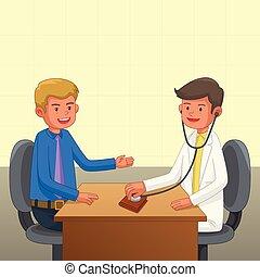 Financial Health Concept Illustration