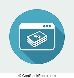 Financial internet services - Dollars