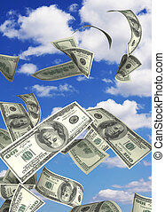 Conceptual image - financial losses