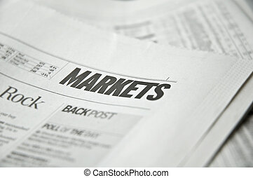Financial news - News paper with focus on markets