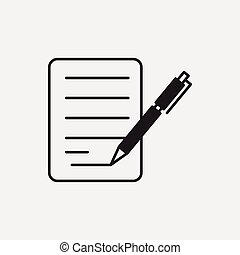 financial paper icon