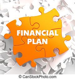 Financial Plan on Orange Puzzle. - Financial Plan on Orange ...