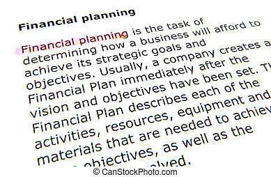 financial planning