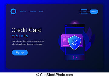 Financial protection credit card.