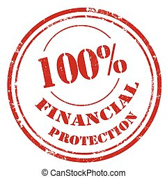 Financial Protection-stamp