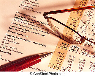 Financial Results - Financial results, glasses and pen