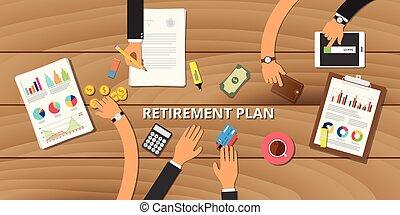 financial retirement planning  consult preparation