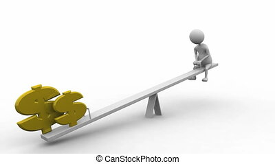 Financial Risk HD - a man taking financial risk
