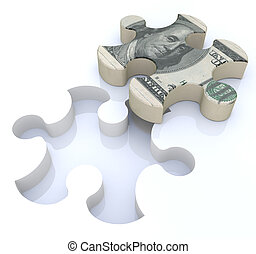 Financial solutions puzzle