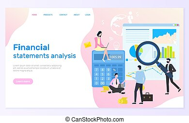 Financial Statement Analysis, Statistical Graphics
