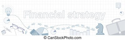 Financial Strategy Business Development Concept Project Planning Banner