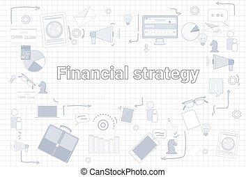 Financial Strategy Business Economic Development Plan Banner