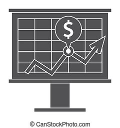 Financial Strategy Icon