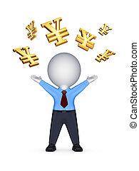 Financial success concept.