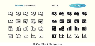 Financial UI Pixel Perfect Well-crafted Vector Thin Line And Solid Icons 30 2x Grid for Web Graphics and Apps. Simple Minimal Pictogram Part 3-3