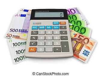 financieel, boekhouding, concept