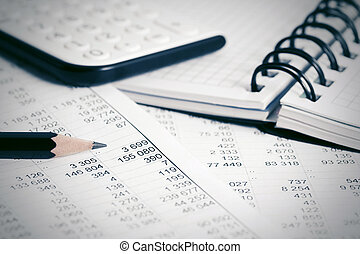 financieel, boekhouding