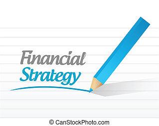 financieel, boodschap, ontwerp, illustratie, strategie