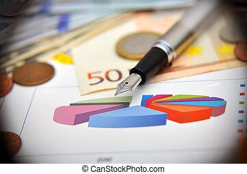 financieel, diagrammen