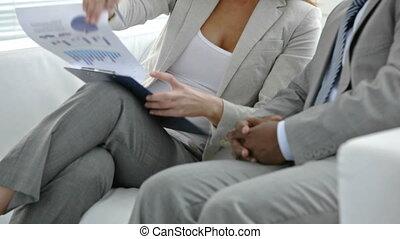 financieel, documenten