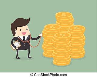 financieel, gezondheid controle