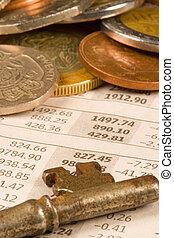 financieel, muntjes